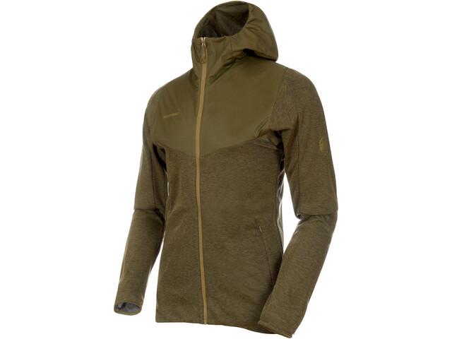 Mammut Alvra ML Hooded Jacket Herre olive melange-pink